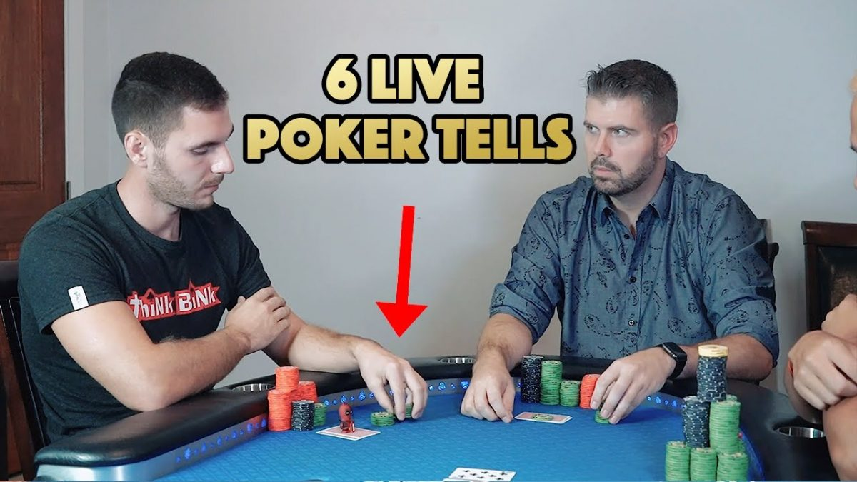 Top poker tells never to underestimate